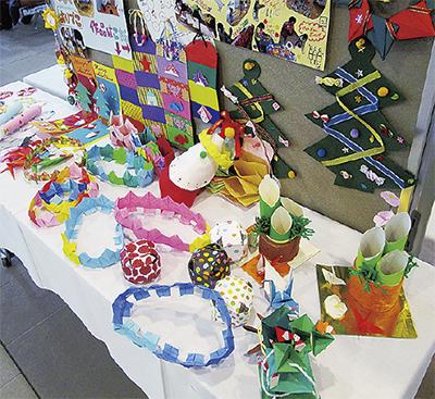 放課後の子どもたちの作品展@瀬谷区役所