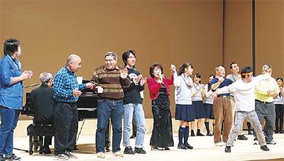 障害児者ら参加の歌、踊りイベント「みなみわっしょいフェスティバル」@みなみん