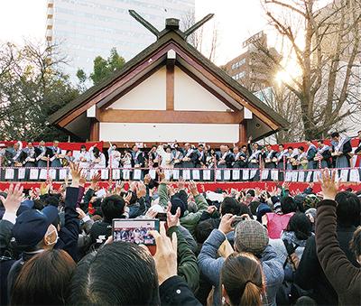 「節分祭」稲毛神社にはご当地アイドルも!【川崎区・幸区・中原区・麻生区】