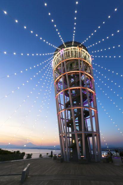 富士山も望める絶景イルミネーション!江の島で満喫する「湘南の宝石 2018-2019」点灯式は11月23日