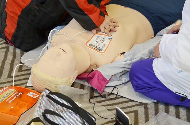 「身近でできる防災対策」心肺蘇生やAEDについて学ぼう