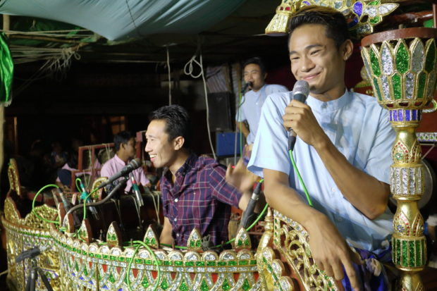 『チョーミン楽団が行く!』ミャンマー伝統音楽ドキュメンタリー上映と写真展@あーすぷらざ(横浜市)