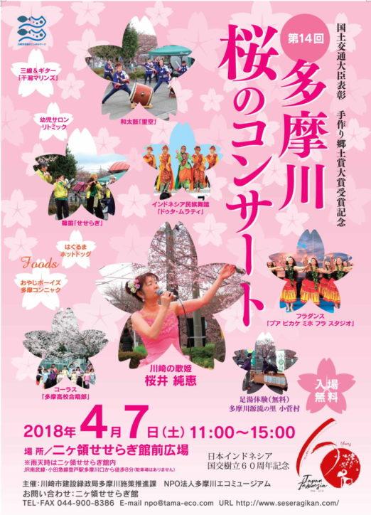 第14回多摩川 桜のコンサート@二ヶ領せせらぎ館