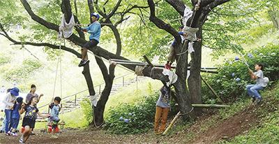 毎月第2日曜日は保土ヶ谷公園で遊ぼう!「ほどがやわくわくプレイパーク」