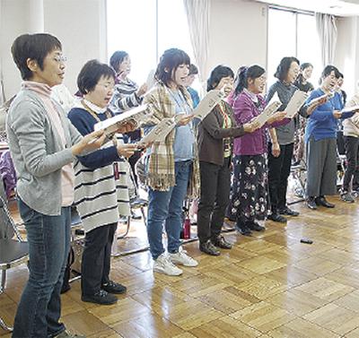 茅ヶ崎では復興支援の合唱コンサート「歌の花束」