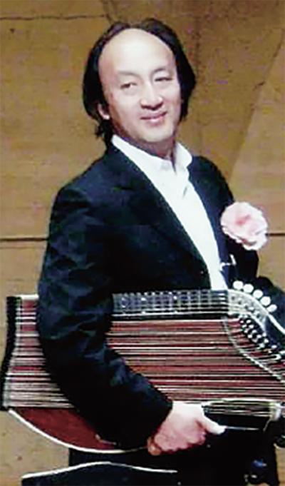 ヨーロッパの民族楽器「ツィター」コンサート@郷土民家園