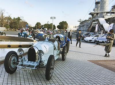 往年のクラシックカーが横須賀に集結「Classic Japan Rally 2018 R134 Spring」