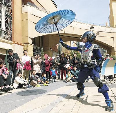 第4回川崎・シネマ大道芸フェスティバル