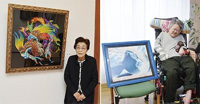 池田和枝創作ペン画展・千葉ナリ立体アート展
