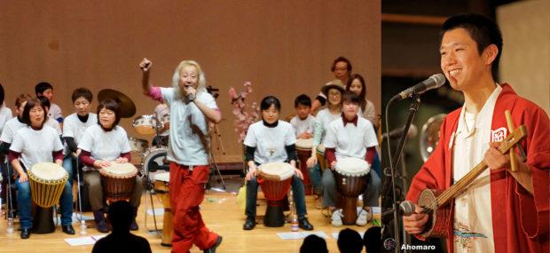 三浦・三崎うらりマルシェ「春の感謝祭」ライブ、無料まぐろ汁・ガラポン抽選も
