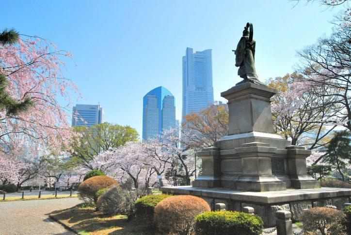 横浜開港の歴史に思い馳せる桜名所「掃部山(かもんやま)公園」3月30日は甘酒ふるまいも