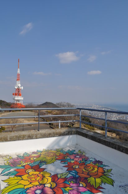 360度大パノラマの絶景「高麗山公園(湘南平)」2000本の桜をお花見