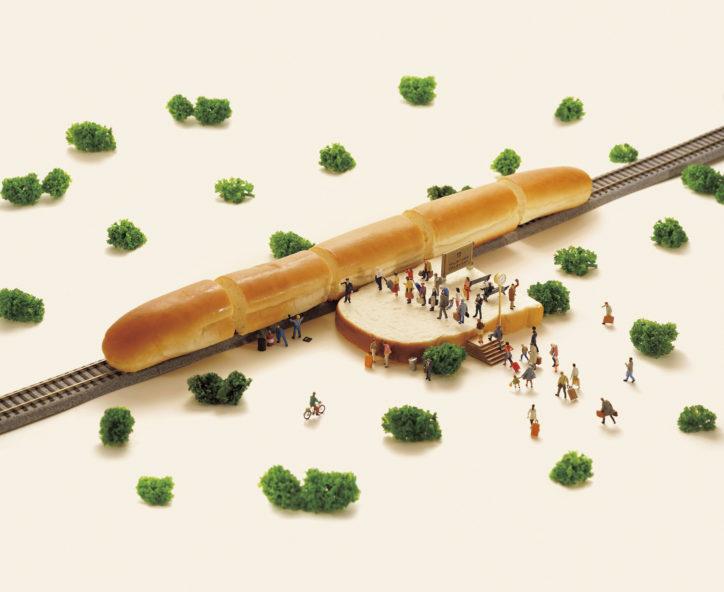走るパン?!『ひよっこ』オープニングで話題・田中達也「ミニチュアライフ展」@横浜髙島屋