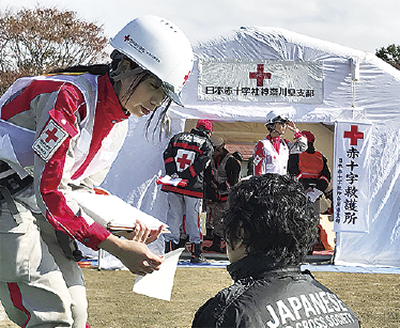 創立記念の5月は「赤十字運動月間」活動資金を募集!@日本赤十字社神奈川県支部
