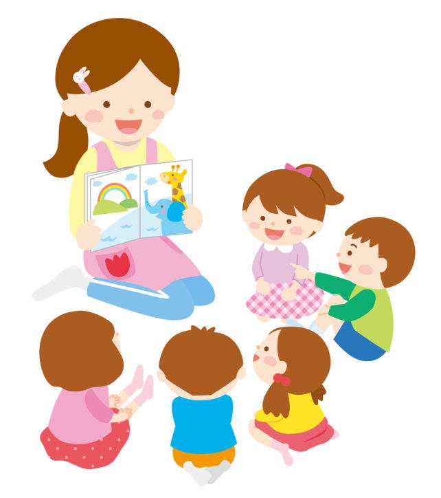 「子ども読書の日」に紙芝居・おはなし会@旭図書館