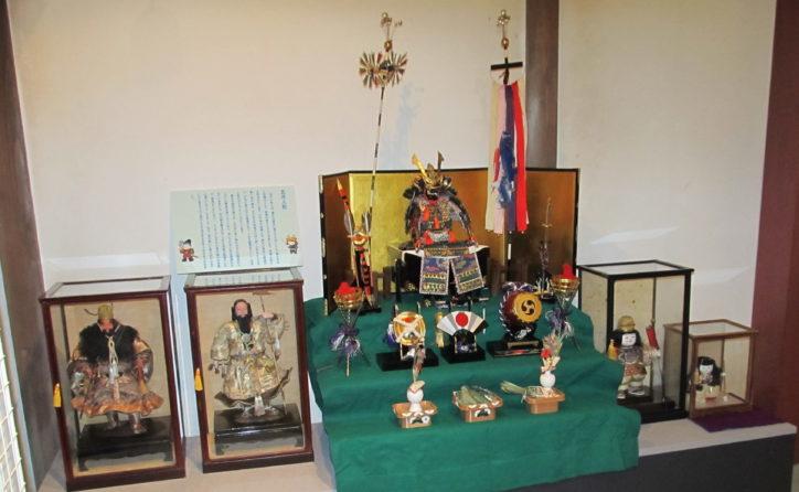 昔の農家に飾られた五月人形を見ませんか?手作り人形の展示も@大和市つる舞の里歴史資料館