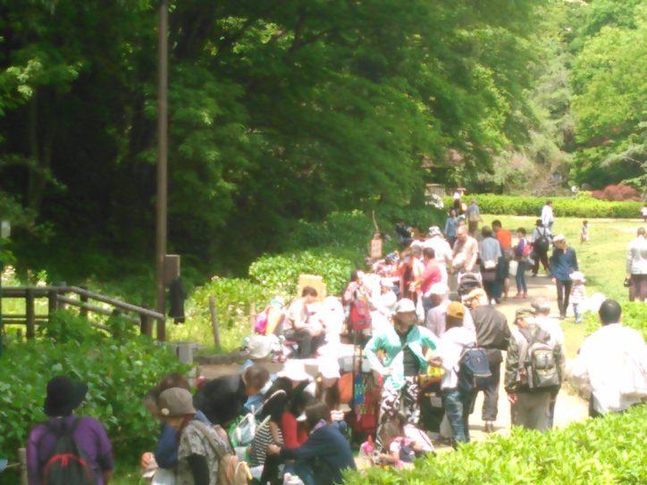 緑の中のフリーマーケット、お買い物してエコ活動@川崎・東高根森林公園