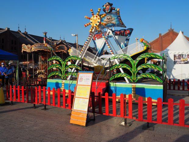 横浜赤レンガ倉庫がドイツの港町に!?移動遊園地&ビールにシーフードも魅力