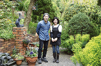 丹精込めた庭を公開「チャリティーオープンガーデン」@藤沢市片瀬山
