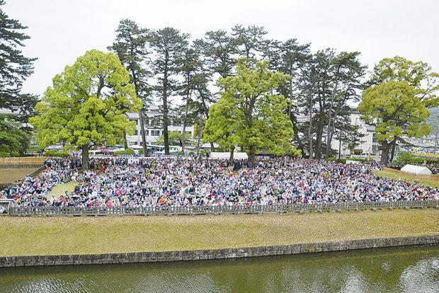 合田雅吏さん、高嶋政伸さんも出陣 小田原市最大の観光イベント「北條五代祭り」