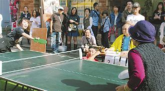 「全はまスリッパ卓球選手権大会」中区予選会@吉田町名店街会