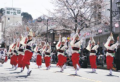 多摩の人気イベント「第37回せいせき桜まつり」パレードや屋台村、スタンプラリーも