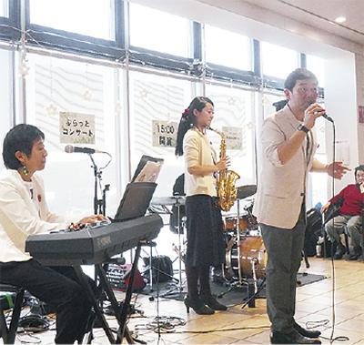 「アヤオーケストラ」コンサート@海老名SA(上り)