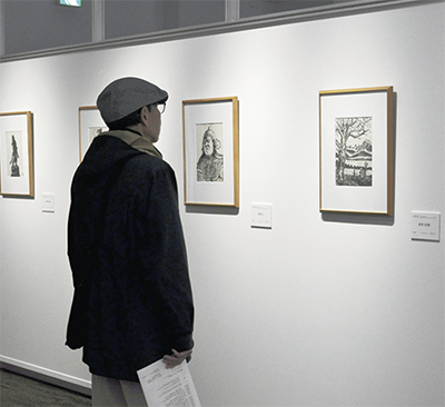 「日本百景」テーマに『海を渡った版画家・山岸主計(かずえ)』展