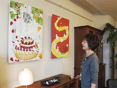 横浜美術大学「春のイラストレーション展」@ウッディハート