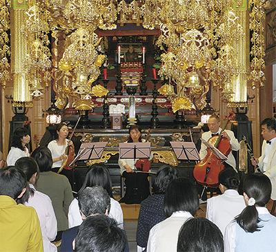 東日本大震災復興祈願チャリティコンサート@大光寺