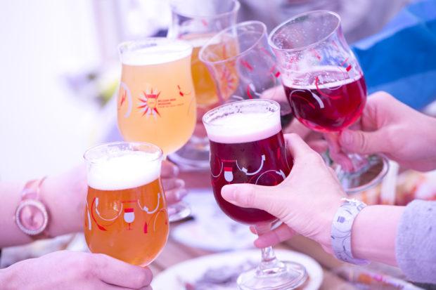 トラピストからホワイト、フルーツまで!111種類のベルギービールで乾杯!!