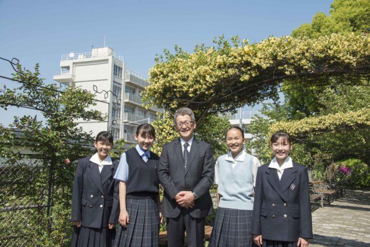 横浜・山手の丘にある「横浜女学院中学校 高等学校」2019年学校説明会 体育祭など行事見学も