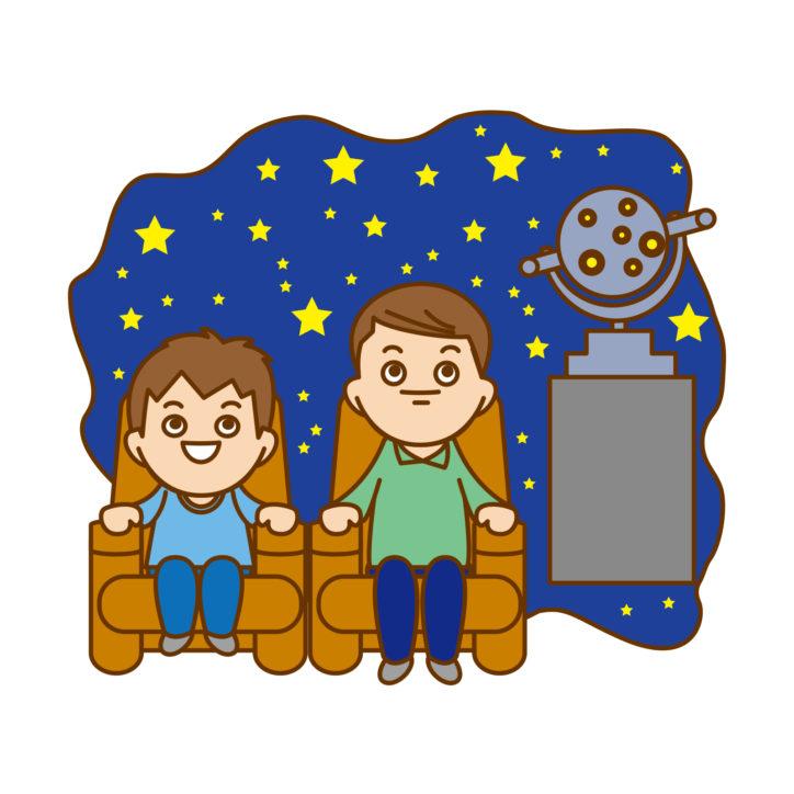 平塚市博物館プラネタリウム「親子ほしぞらタイム」