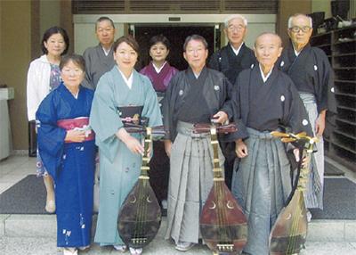 江島神社で琵琶の弾き語り【5月11日】
