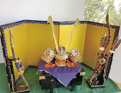 かぶとや甲冑を展示「蘇展Ⅶ~よみがえる~」@座間神社ギャラリー杜
