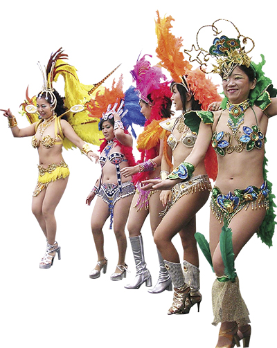 「大和市民まつり」3年ぶりにサンバパレードが復活!アンパンマンショーも