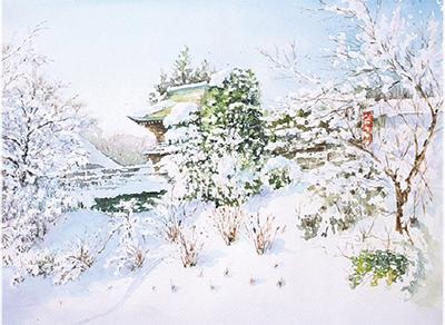岡田ユキオ水彩画展@ギャラリー華沙里