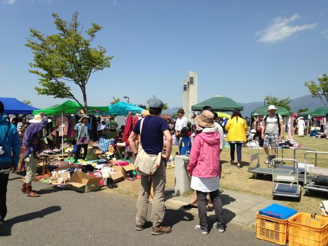 姫の島公園(イオン金沢八景店横)でフリーマーケット【5月13日】