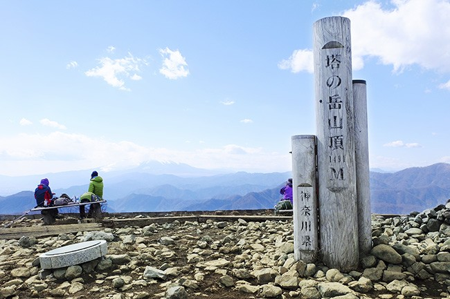 表尾根縦走/最高峰の塔ノ岳へ ヤビツ峠から挑戦