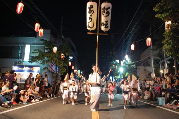 相模原で阿波踊りの祭典『東林間サマーわぁ!ニバル2018』