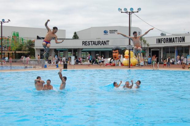 「よみうりランドプールWAI」アンパンマンプールでお子さんのプールデビューはいかが?
