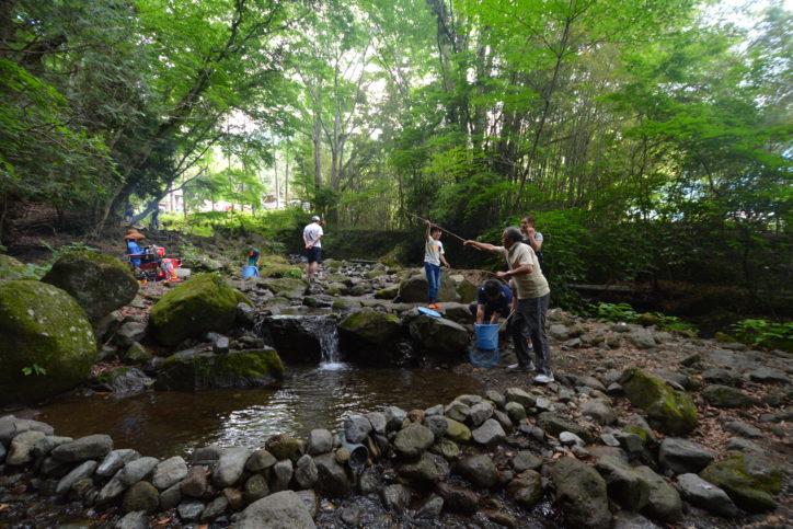 みのげマス釣りセンター/私的空間で釣りにBBQ 丹沢山麓の避暑スポット