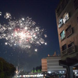<2020年開催中止>第29回 竹山の花火大会2019【7月14日(日)約40発】