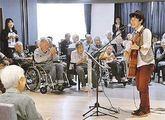 「友近890(やっくん)」出演するふれあいコンサート@新百合ヶ丘総合病院