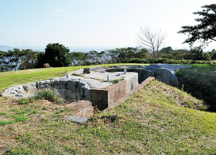 ガイドツアー「千代ヶ崎砲台の戦跡」ブルーベリーのお土産付【定員25人】