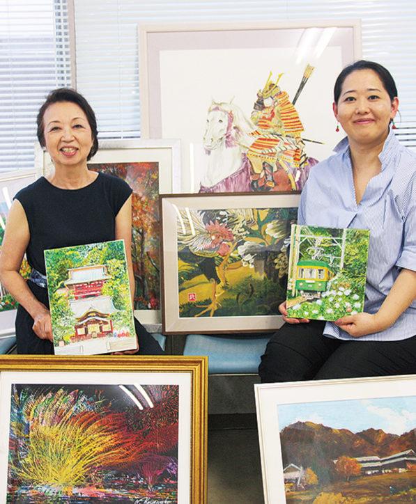 清川病院絵画展「病院の巨匠たち」約150点を展示