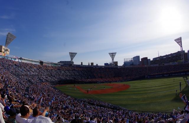 横浜スタジアム40年の歴史展、ベイスターズ資料も@中図書館