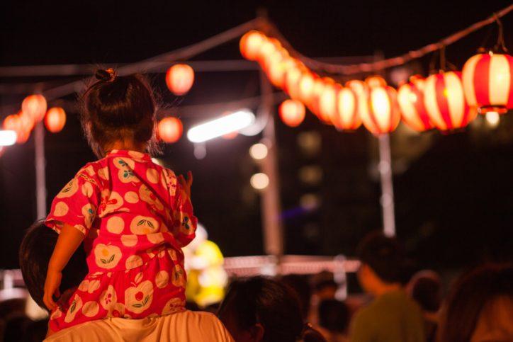 川崎市宮前区《夏祭り一覧》浴衣を着て出かけよう!ご近所公園・神社・小学校