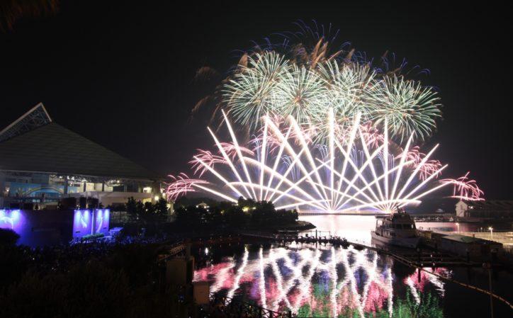 横浜・八景島シーパラダイス『花火シンフォニア 』2019年7月13日からスタート【約2,500発】