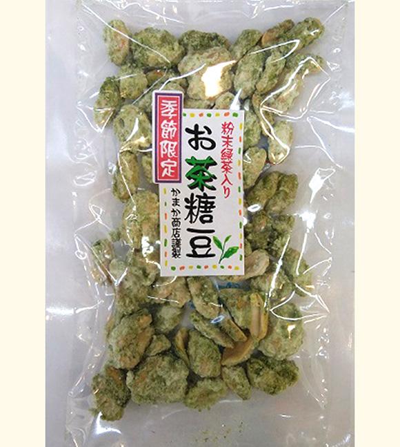 かまかオリジナル丹沢銘茶入り(お茶糖豆)